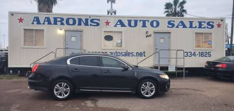 2009 Lincoln MKS for sale at Aaron's Auto Sales in Corpus Christi TX