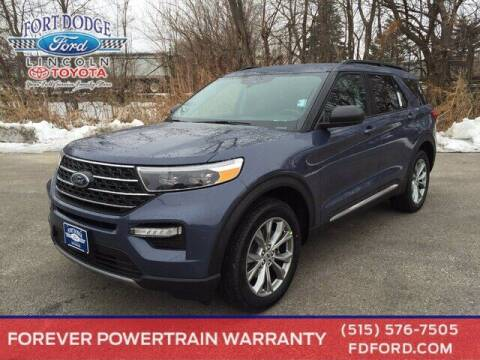 2021 Ford Explorer for sale at Fort Dodge Ford Lincoln Toyota in Fort Dodge IA
