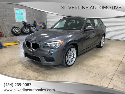 2014 BMW X1 for sale at Silverline Automotive in Lynchburg VA