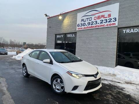 2016 Toyota Corolla for sale at Auto Deals in Roselle IL