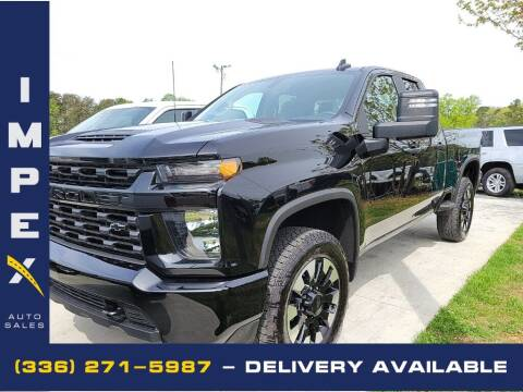 2020 Chevrolet Silverado 2500HD for sale at Impex Auto Sales in Greensboro NC