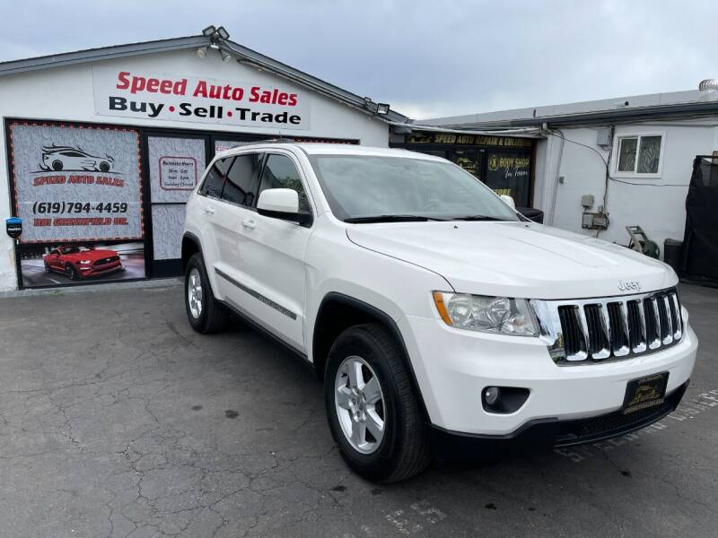 2011 Jeep Grand Cherokee for sale at Speed Auto Sales in El Cajon CA