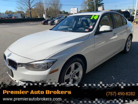 2014 BMW 3 Series for sale at Premier Auto Brokers in Virginia Beach VA
