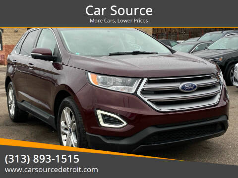 2018 Ford Edge for sale at Car Source in Detroit MI