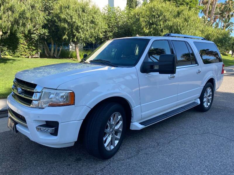 2015 Ford Expedition EL for sale at Donada  Group Inc in Arleta CA