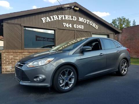 2013 Ford Focus for sale at Fairfield Motors in Fort Wayne IN