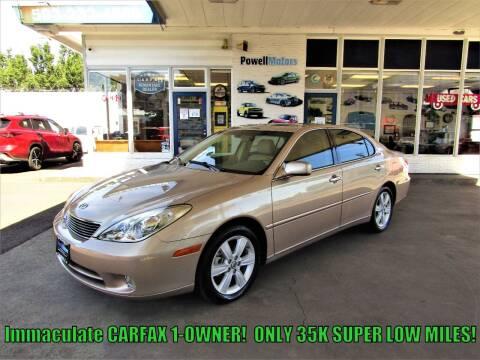 2005 Lexus ES 330 for sale at Powell Motors Inc in Portland OR