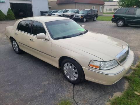 2003 Lincoln Town Car for sale at Van Kalker Motors in Grand Rapids MI