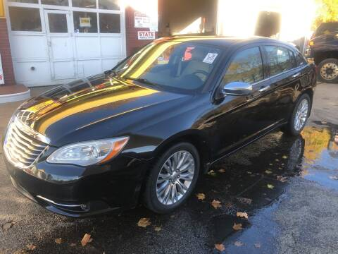 2011 Chrysler 200 for sale at Barga Motors in Tewksbury MA