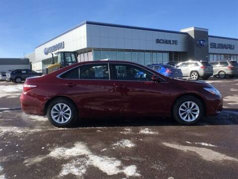 2017 Toyota Camry for sale at Schulte Subaru in Sioux Falls SD