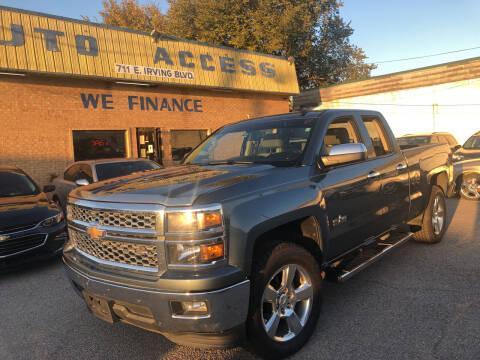 2014 Chevrolet Silverado 1500 for sale at Auto Access in Irving TX