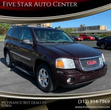 2008 GMC Envoy for sale at Five Star Auto Center in Detroit MI