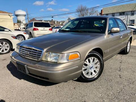 2003 Ford Crown Victoria for sale at Majestic Auto Trade in Easton PA