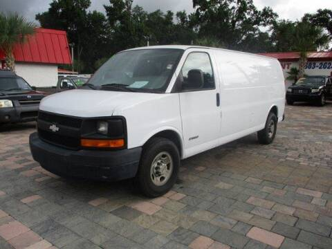 2005 Chevrolet Express Cargo for sale at Affordable Auto Motors in Jacksonville FL