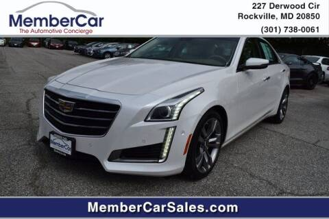 2016 Cadillac CTS for sale at MemberCar in Rockville MD