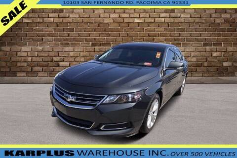 2015 Chevrolet Impala for sale at Karplus Warehouse in Pacoima CA