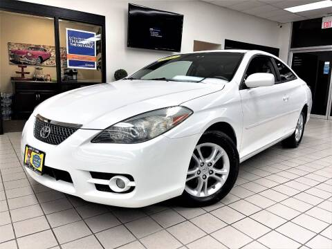2007 Toyota Camry Solara for sale at SAINT CHARLES MOTORCARS in Saint Charles IL
