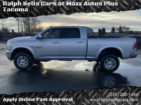 2018 RAM Ram Pickup 2500 for sale at Ralph Sells Cars at Maxx Autos Plus Tacoma in Tacoma WA