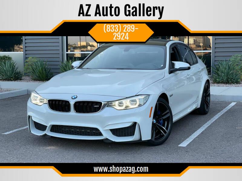 2015 BMW M3 for sale at AZ Auto Gallery in Mesa AZ