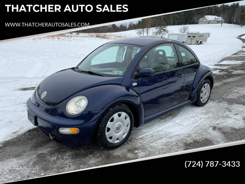 2002 Volkswagen New Beetle for sale at THATCHER AUTO SALES in Export PA