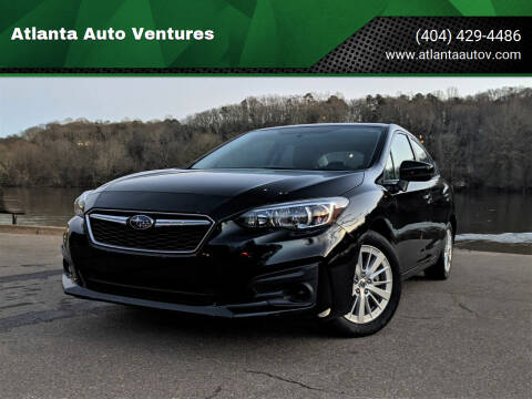 2017 Subaru Impreza for sale at Atlanta Auto Ventures in Roswell GA