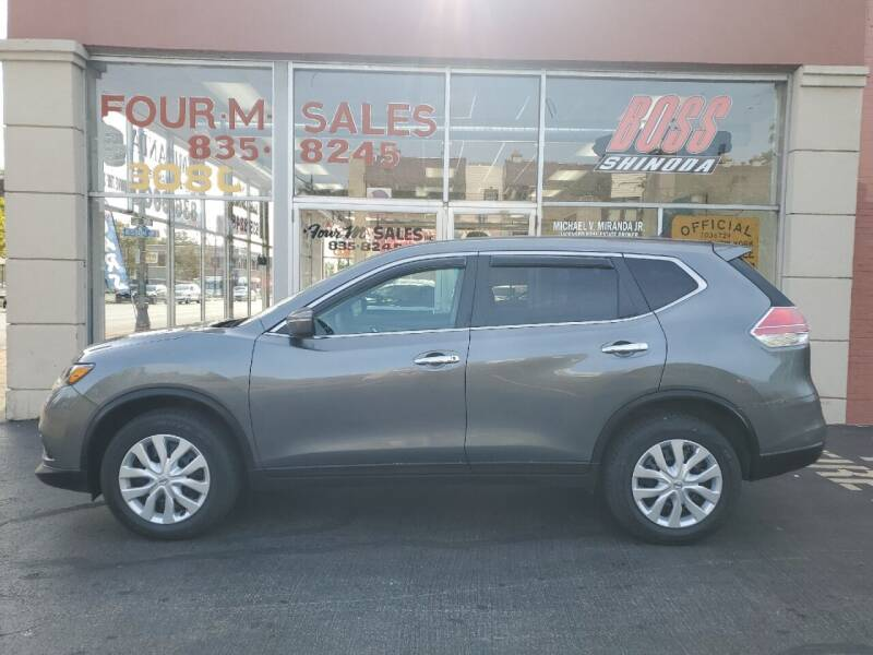 2015 Nissan Rogue for sale at FOUR M SALES in Buffalo NY