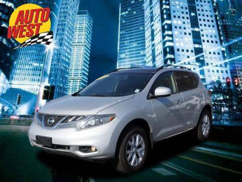 2012 Nissan Murano for sale at Autowest of GR in Grand Rapids MI