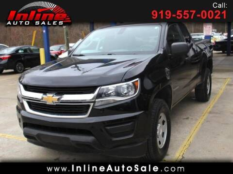 2018 Chevrolet Colorado for sale at Inline Auto Sales in Fuquay Varina NC