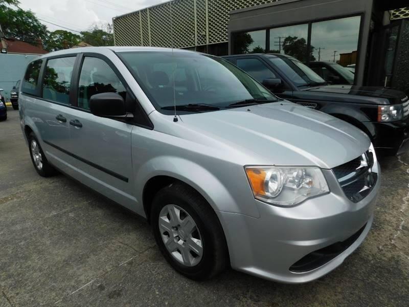 2012 Dodge Grand Caravan for sale at Gus's Used Auto Sales in Detroit MI
