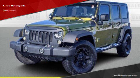 2008 Jeep Wrangler Unlimited for sale at Klean Motorsports in Skokie IL
