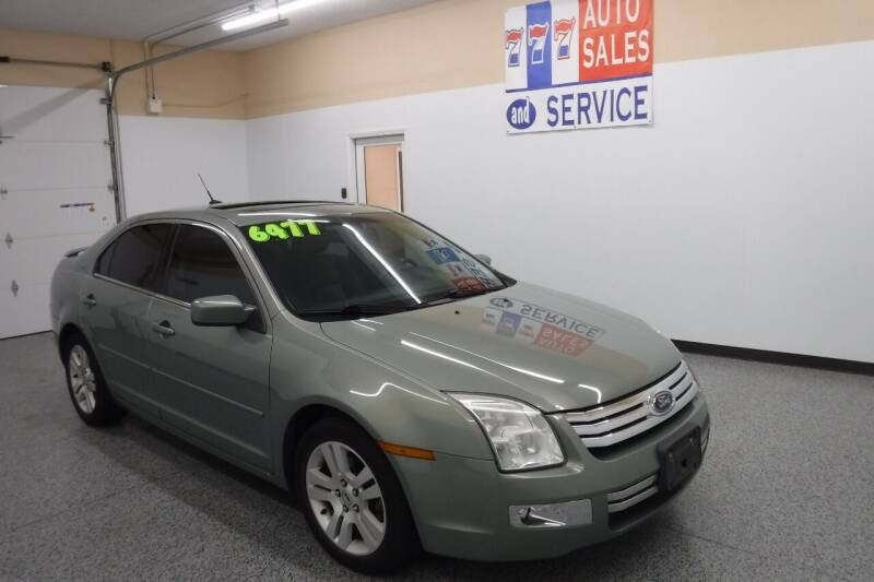 2008 Ford Fusion for sale at 777 Auto Sales and Service in Tacoma WA