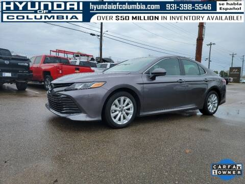 2019 Toyota Camry for sale at Hyundai of Columbia Con Alvaro in Columbia TN