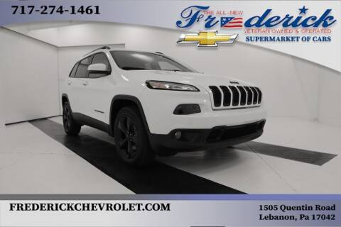 2018 Jeep Cherokee for sale at Lancaster Pre-Owned in Lancaster PA