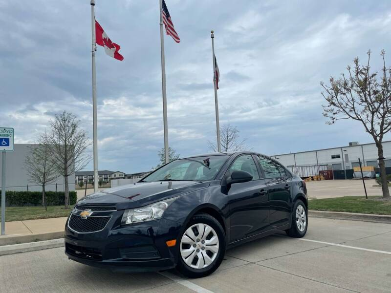 2014 Chevrolet Cruze for sale at TWIN CITY MOTORS in Houston TX