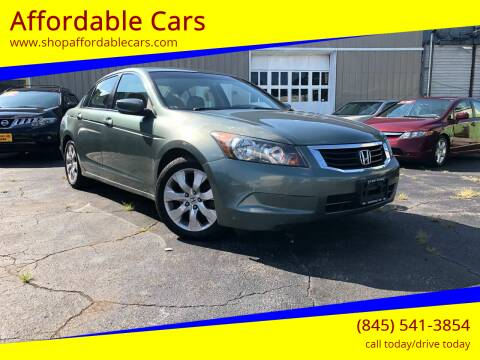 2009 Honda Accord for sale at Affordable Cars in Kingston NY