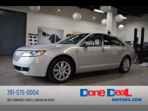 2010 Lincoln MKZ for sale at DONE DEAL MOTORS in Canton MA