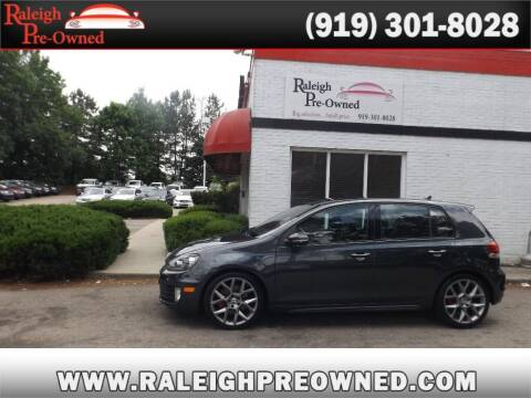 2013 Volkswagen GTI for sale at Raleigh Pre-Owned in Raleigh NC