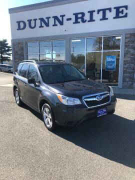 2016 Subaru Forester for sale at Dunn-Rite Auto Group in Kilmarnock VA