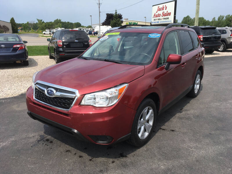 2015 Subaru Forester for sale at JACK'S AUTO SALES in Traverse City MI