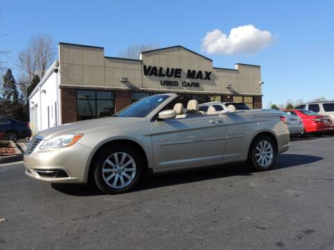 2013 Chrysler 200 Convertible for sale at ValueMax Used Cars in Greenville NC