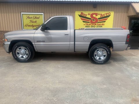 2000 Dodge Ram Pickup 2500 for sale at BIG 'S' AUTO & TRACTOR SALES in Blanchard OK