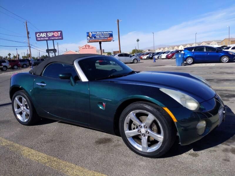 2006 Pontiac Solstice for sale at Car Spot in Las Vegas NV