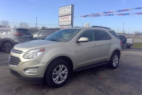 2016 Chevrolet Equinox for sale at Premier Auto Sales Inc. in Big Rapids MI