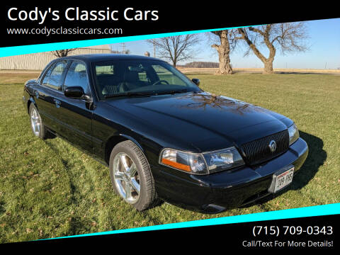 2003 Mercury Marauder for sale at Cody's Classic Cars in Stanley WI