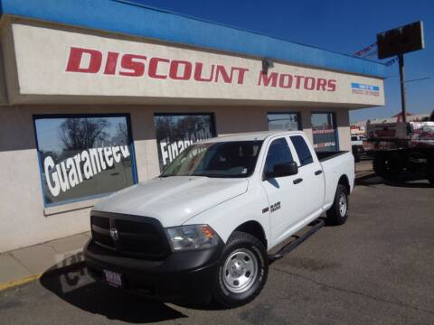2017 RAM Ram Pickup 1500 for sale at Discount Motors in Pueblo CO