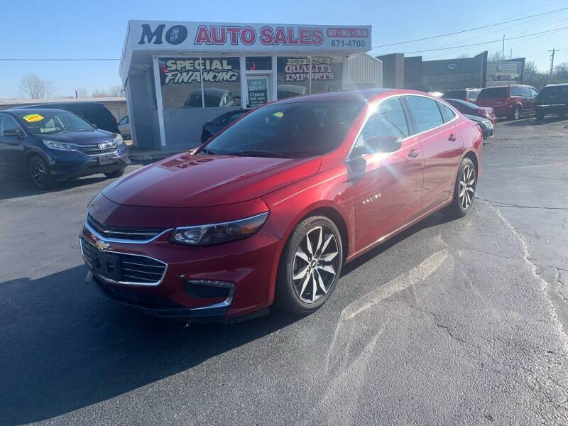 2017 Chevrolet Malibu for sale at Mo Auto Sales in Fairfield OH