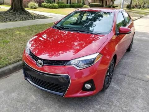 2016 Toyota Corolla for sale at Amazon Autos in Houston TX