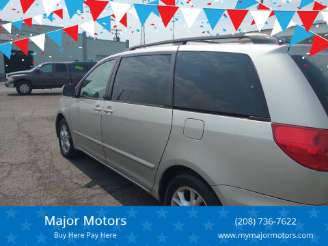 2006 Toyota Sienna for sale at Major Motors in Twin Falls ID