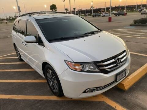2014 Honda Odyssey for sale at FREDY KIA USED CARS in Houston TX