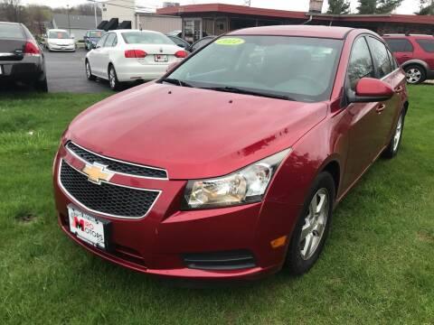 2011 Chevrolet Cruze for sale at Miro Motors INC in Woodstock IL